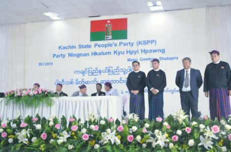 'Kachin State People's Party KSPP' hpe mungshawa hpang de shachyen ya