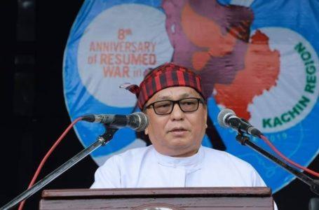KBC ningbaw Rev.Dr. Hkalam Samson hpe ahkyak la na matu Myen hpyendap tara jewat da