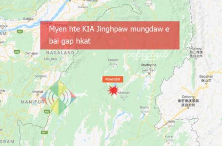 Myen hte KIA Jinghpaw mungdaw e bai gap hkat