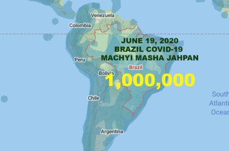 Brazil Covid-19 kap bra masha sen 10 du