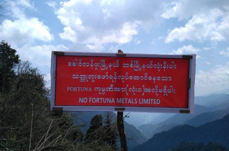 Hkawng Lang Hpu ginra Fortuna Metals a bungli masing gan jahkring da