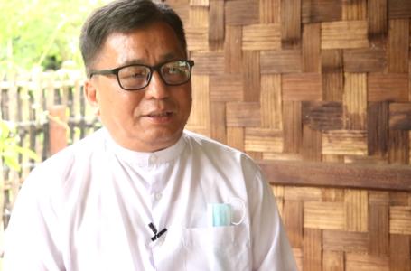 KBC Ningbaw Rev. Dr. Hkalam Samson a KIO Laiza kaw na nhtang wa ten jep hkrum